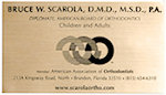 Brushed Gold Business Card Magnets